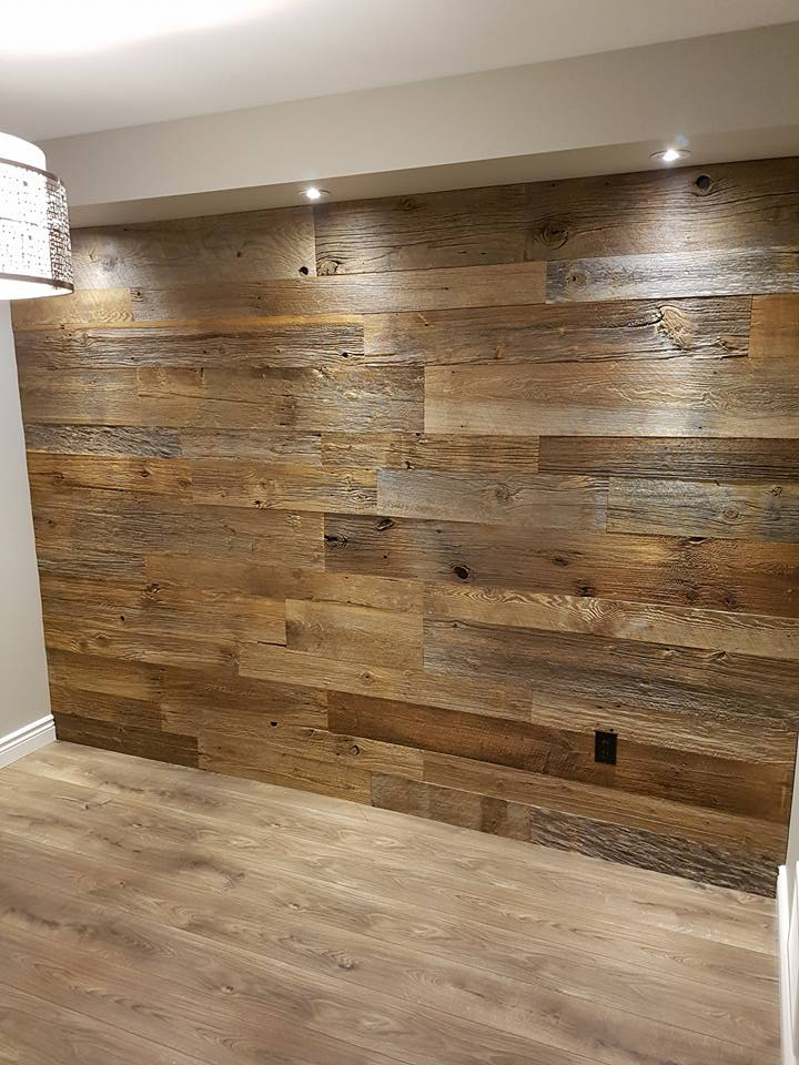 Living Room Feature Wall Decor: Ridgedown Construction