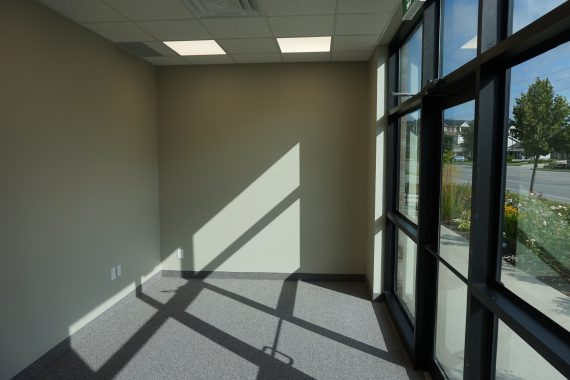 Commercial Office Renovation - Entrance