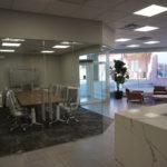 Remax Hamilton Office Renovation - Reception Area