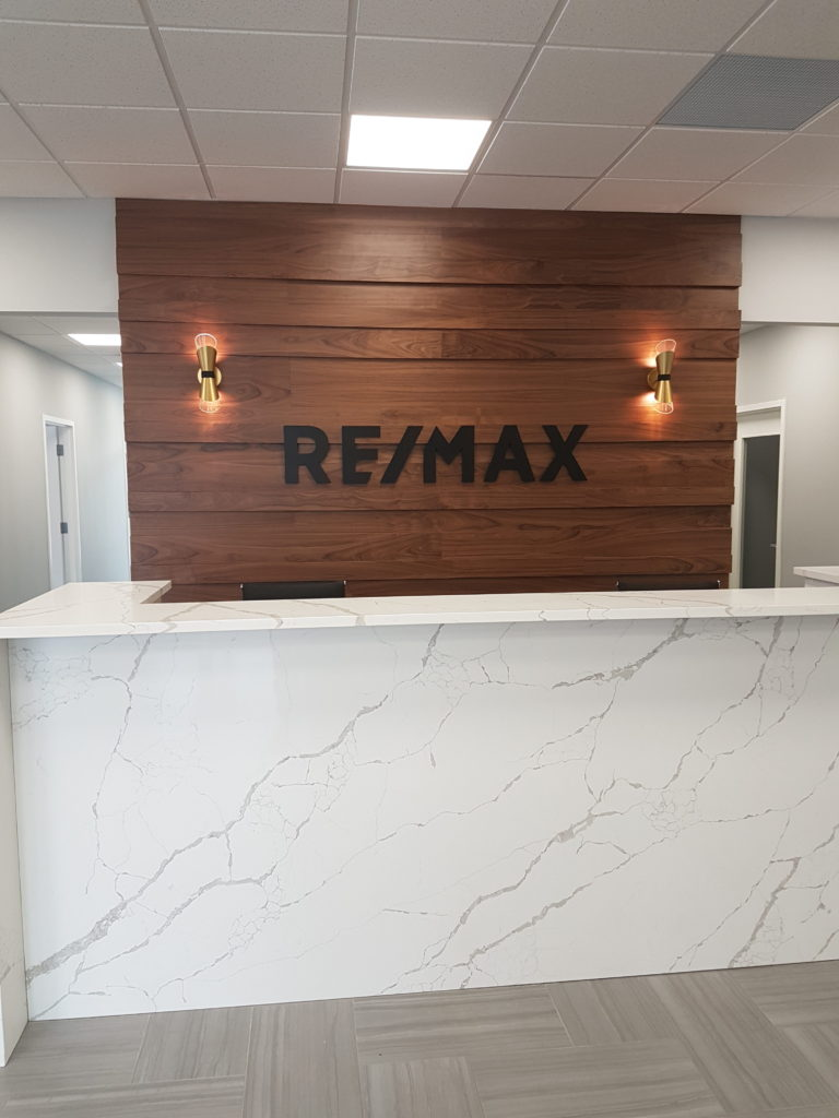 Remax Hamilton Office Renovation - Reception